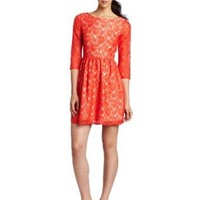 French Connection Women's Lizzy Lace Dress