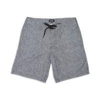 HUF: Memphis Boardshorts - Black / White