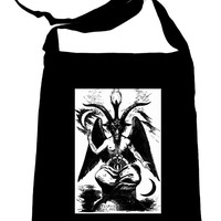 Goat of Mendes Baphomet By Eliphas Levi Crossbody Sling Bag Occult