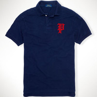 """Custom-Fit Gothic """"P"""" Polo"""