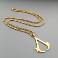 Gift Stylish Jewelry New Arrival Shiny Hot Sale Fashion Hip-hop Club Necklace [6542720131]