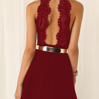 Homecoming Red Dress Perfect Wedding Dress or Party Dress
