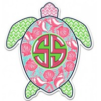 Simply Southern Preppy Stickers Turtle DECAL-TURTLE