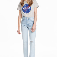 Vintage High Ankle Jeans - from H&M