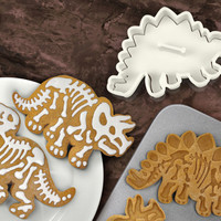 Fred Dig-Ins dinosaur cookie cutters