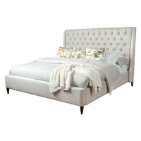 Parker Tufted Linen Bed