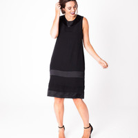 Lala Belle The Label | Satin Crepe Shift Dress