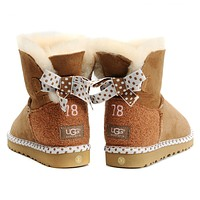 """simpleclothesv  """"UGG"""" Women Trending Fashion Wool Snow Boots"""