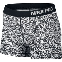 Nike Women's 3'' Pro Palm Printed Shorts