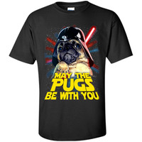 May The Pugs Be With You T-Shirt