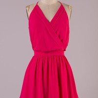 Date Night Dress - Fuchsia