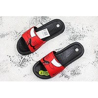 Nike Benassi Solarsoft Nba Chicago Bulls Slider Slipper