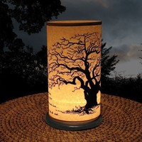 Large Shoji Candle Lantern Large Tree by earthsteps on Etsy