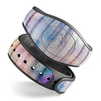Dripping Blue Paint - Decal Skin Wrap Kit for the Disney Magic Band