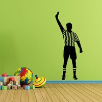 Referee Wall Decal