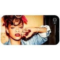 Rihanna iphone 4 & 4s cover hard protective case 8 for apple i phone