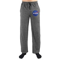 NASA Logo Print Men's Lounge Pants