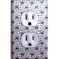 Whimsical Delight Outlet Plate, wall decor