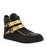 Giuseppe Zanotti Double Ski Bangle High Top Sneaker