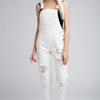 Paint it white overalls