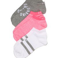 3-Piece Sock Set - PINK - Victoria's Secret