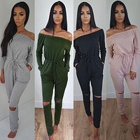 New Fashion Rompers Summer Women Jumpsuit Sexy lace Playsuits Casual Beach Floral Playsuits Overalls Bodysuit