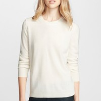 Women's Burberry Brit Elbow Patch Cashmere Sweater