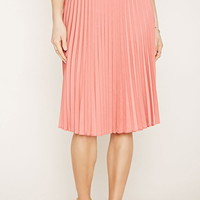 Contemporary Pleated Skirt