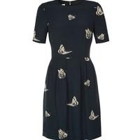 NW3 BEATING BUTTERFLY DRESS