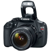 Walmart: Canon Black EOS Rebel T5 Digital SLR Camera with 18 Megapixels and 18-55mm Zoom Lens Included