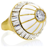 Crystal Dome Ring, Stone & Novelty Rings