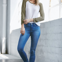 Bullhead Denim Co. Rag Blue Dreamy Mid Rise Jeggings at PacSun.com