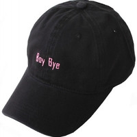 Boy Bye Beyonce Weekend Baseball Hat - Black