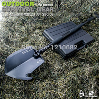 high carbon steel blade/snow shovel/folding shovel/garden tools survival shovel axe camping tactical knife