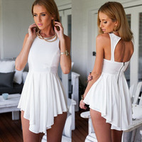 New Fashion Summer Sexy Women Mini Dress Casual Dress for Party and Date = 4661735492