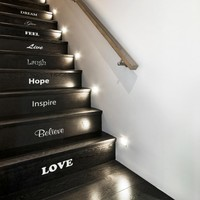 Inspirational Stair Stickers from Nutmeg Wall Art Stickers | Made By Nutmeg | £26.00 | BOUF