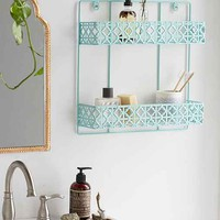Double Decker Wall Shelf