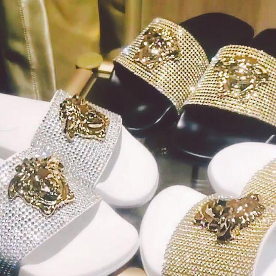 Image of Versace Women Fashion Casual Slipper Shoes