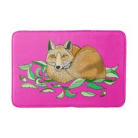 Fox Bathmat Bath Mats