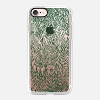 Snow pines(Green) iPhone 7 Case by Kanika Mathur | Casetify