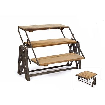 Industrial Reclaimed Wood Coffee Table by Go Home Ltd. 13281