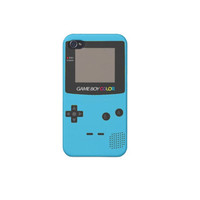 gameboy color blue iPhone 4/4s/5 & iPod 4 Case