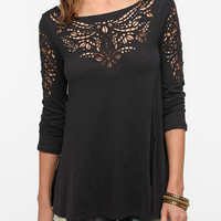 Urban Outfitters - Truly Madly Deeply Laser-Cut Tee