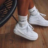 NIKE AIR FORCE JESTER XX trend men and women models wild casual white shoes