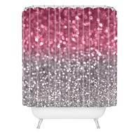 Lisa Argyropoulos Rose And Gray Shower Curtain