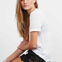 Band of Gypsies Dolphin Lace Shorts in Black - Urban Outfitters