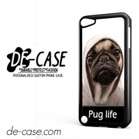 New Design Funny Hilarious Pug Life Parody Fans For Ipod 5 Case Phone Case Gift Present