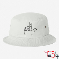 Loser Hand bucket hat