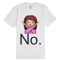 No.-Unisex White T-Shirt