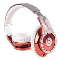 Swarovski crystallized Beats By Dre headphones
